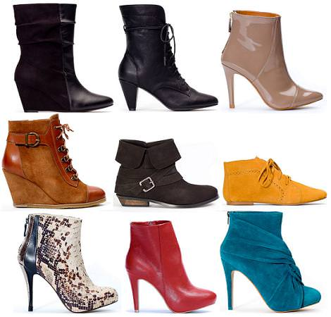 Zapatos de Stradivarius otoño 2011