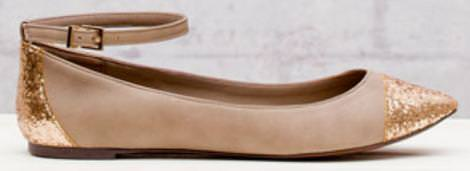 Zapatos de Stradivarius, bailarinas