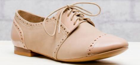 Zapatos de Stradivarius, zapatos oxford