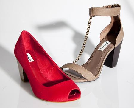 Zapatos de Stradivarius, verano 2010
