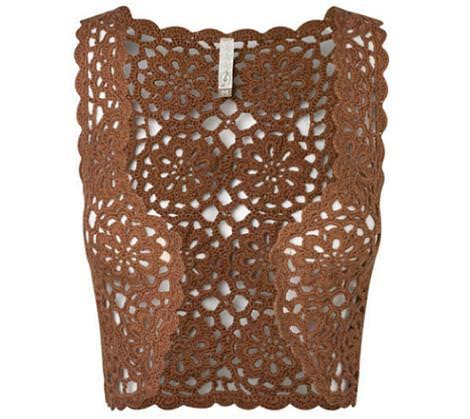 Stradivarius ropa de crochet