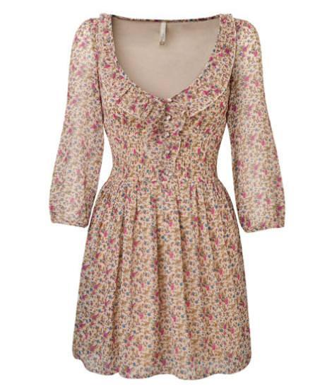 Stradivarius primavera verano 2011: vestidos