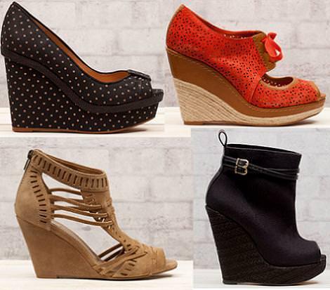 Sandalias y zapatos Stradivarius primavera 2012 zapatos cuña