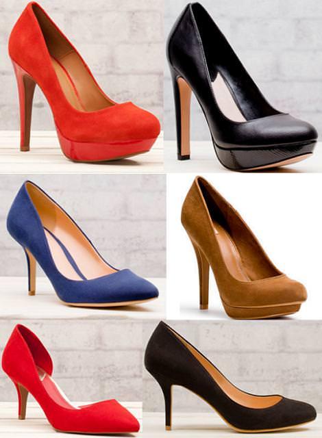 Sandalias y zapatos Stradivarius primavera 2012 zapatos salones