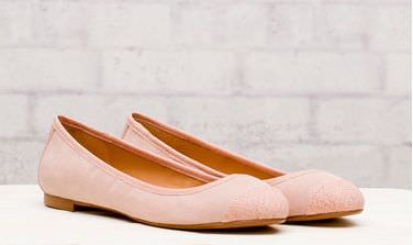 zapatos de stradivarius primavera 2012 bailarina puntera