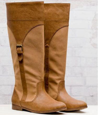 zapatos de stradivarius primavera 2012 bota hebillas