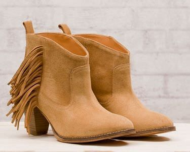 zapatos de stradivarius primavera 2012 botin flecos