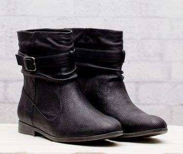 zapatos de stradivarius primavera 2012 botin hebilla