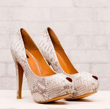 zapatos de stradivarius primavera 2012 salon piton