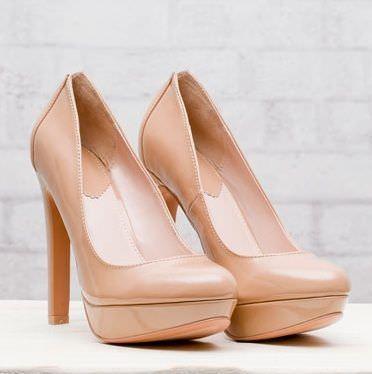 zapatos de stradivarius primavera 2012 salon crema