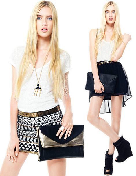 Stradivarius ropa primavera verano 2012: faldas