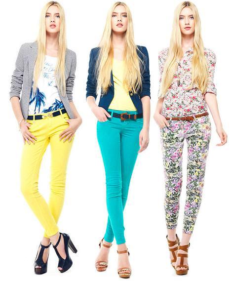 Stradivarius ropa primavera verano 2012: pantalones