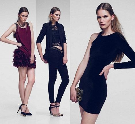 catálogo de stradivarius faldas de fiesta para nochevieja y navidad 2013