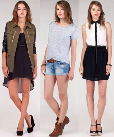 Stradivarius nueva ropa y colección 2012