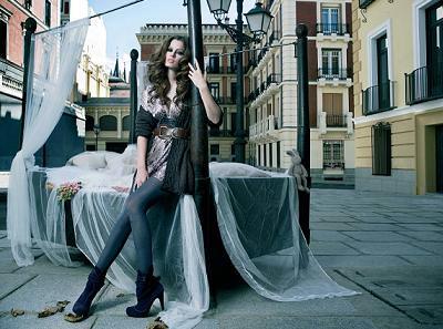 Stradivarius, moda otoño invierno 2008 2009
