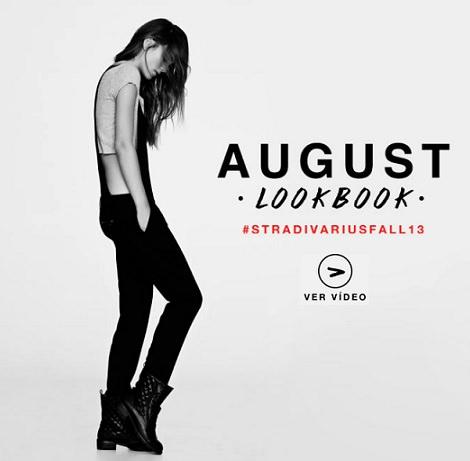 lookbook de stradivarius para el mes de agosto