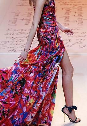 Emanuel Ungaro, moda primavera verano 2009