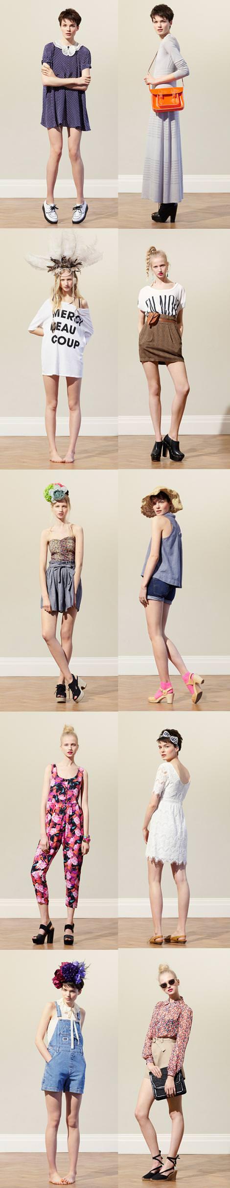 Catálogo de Urban Outfitters primavera 2011
