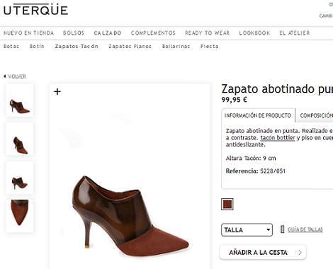 Uterque tienda online