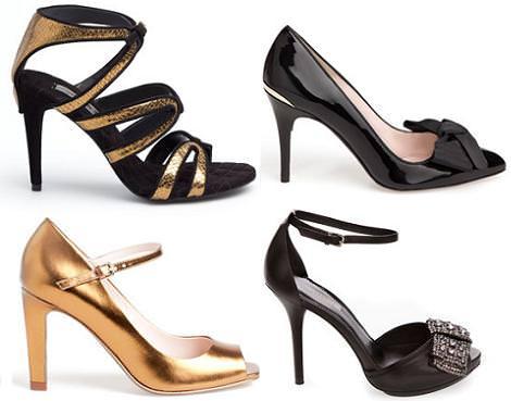 Zapatos y sandalias de fiesta de Uterque