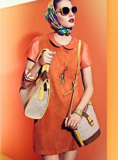 Lookbook de Uterque primavera 2012