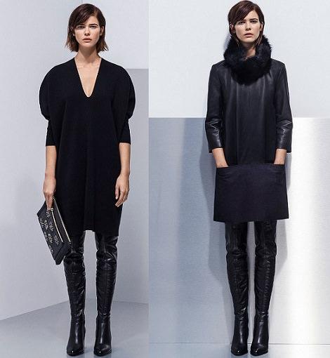 vestidos de Uterque catálogo otoño invierno 2014 2015