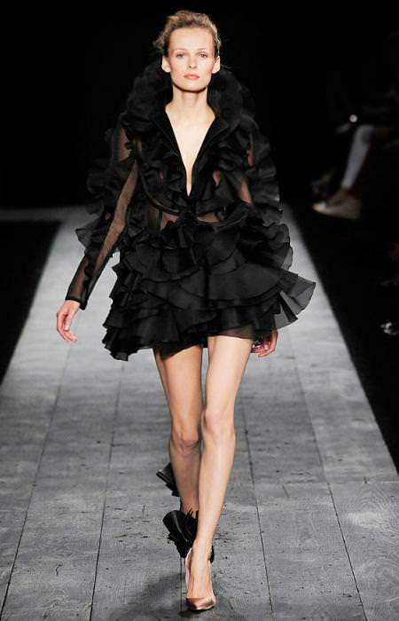 moda otoño invierno 2009 2010, de alta costura, de Valentino