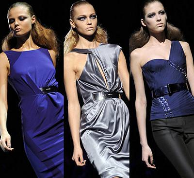Versace, moda otoño invierno 2009 2010