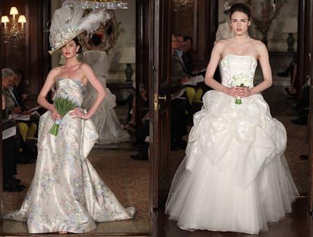 Vestidos de novia 2011, de Carolina Herrera