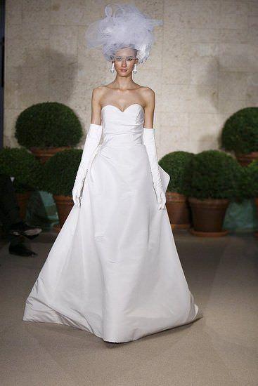 Vestidos de novia 2011, de Oscar de la Renta