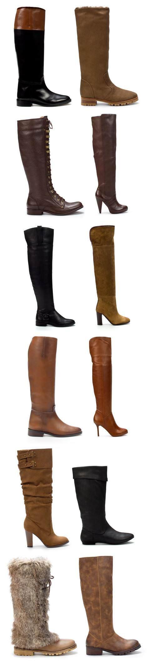 Botas de Zara (moda otoño invierno 2010 2011)