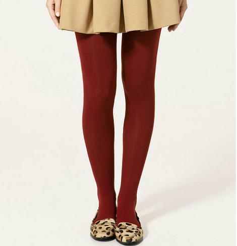 Medias y calcetines de Zara (otoño invierno 2010 2011)