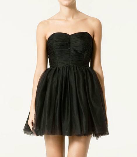 Vestidos tutú de Zara de Zara (otoño invierno 2010 2011)