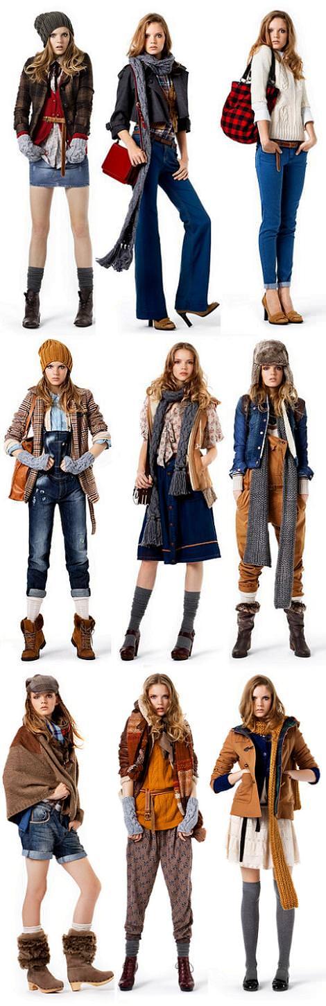 Zara TRF: Lookbook octubre 2010
