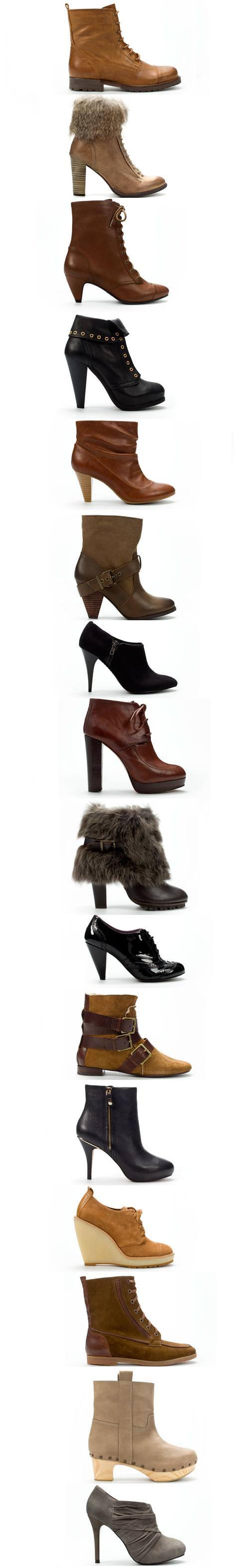 Botines de Zara (otoño invierno 2010 2011)