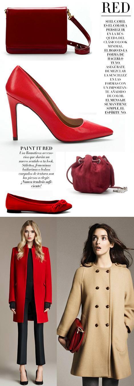 Rojo, el color de moda(otoño invierno 2010 2011)