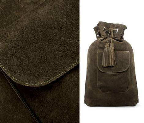 Saca mochila de Zara otoño invierno 2010/2011