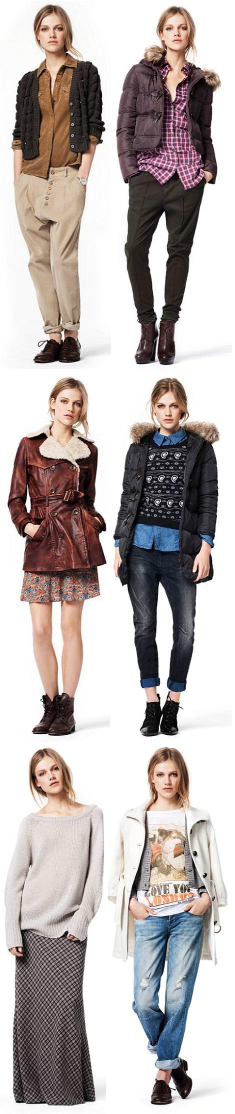 Zara TRF Lookbook: Noviembre 2010 (otoño invierno 2010 2011)