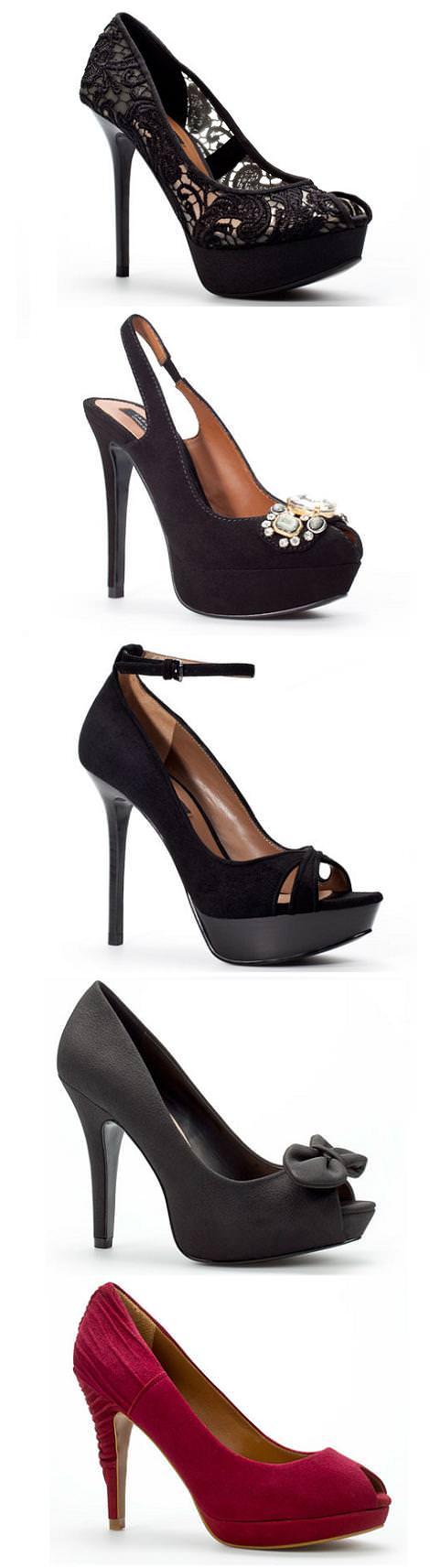 Zapatos PEEP TOE de Zara (otoño invierno 2010 2011)
