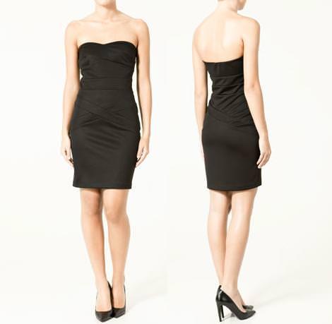 Vestidos fin de año de Zara, 2010