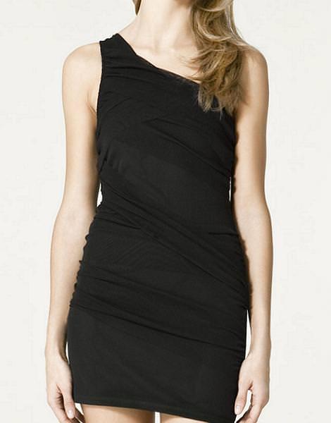 Vestidos Nochevieja de 20 euros, de Zara (otoño invierno 2010 2011)