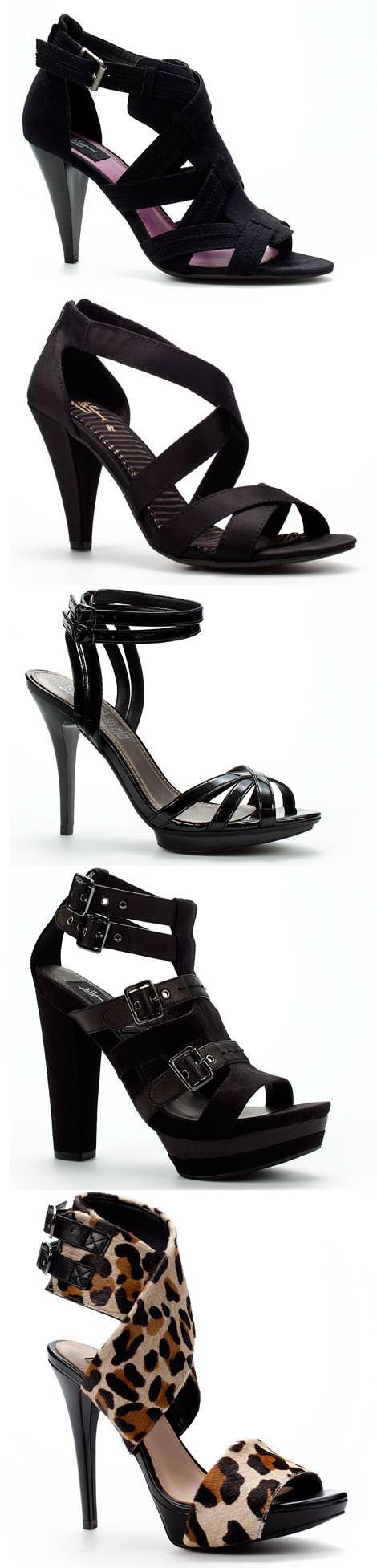 Sandalias de fiesta, de Zara 2010