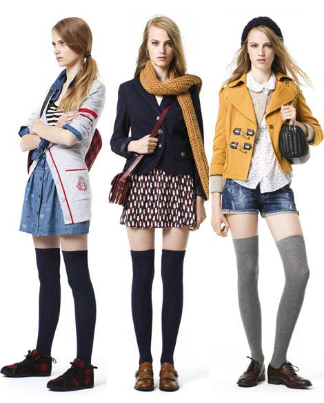 Estilo college (moda otoño invierno 2010 2011)