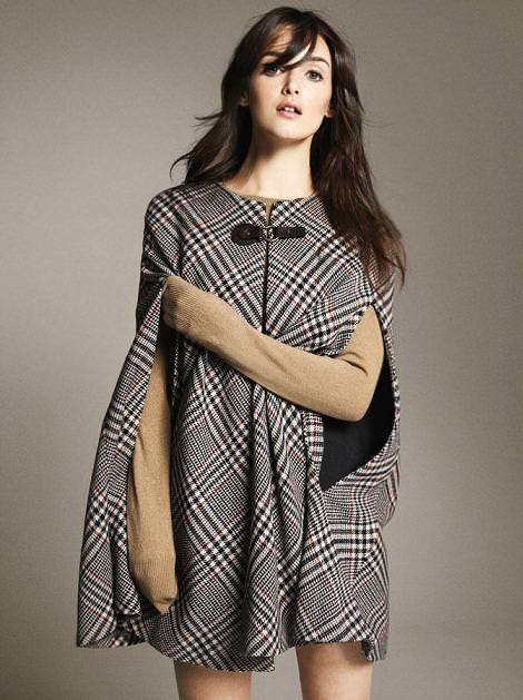 Abrigos capa de Zara, otoño invierno 2010 2011
