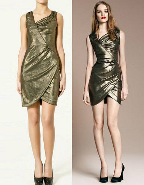 Vestidos de fiesta, de Evening Collection de Zara (looks de fiesta)