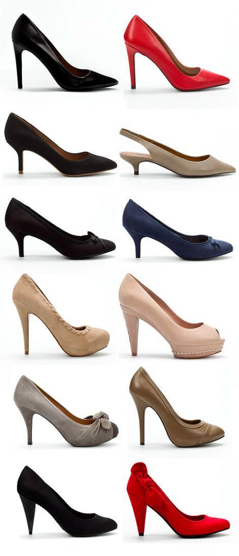Zapatos Zara, otoño invierno 2010 2011