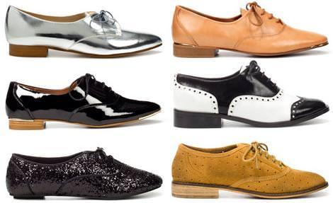 7fce1f2bd0a zapatos blucher mujer zara