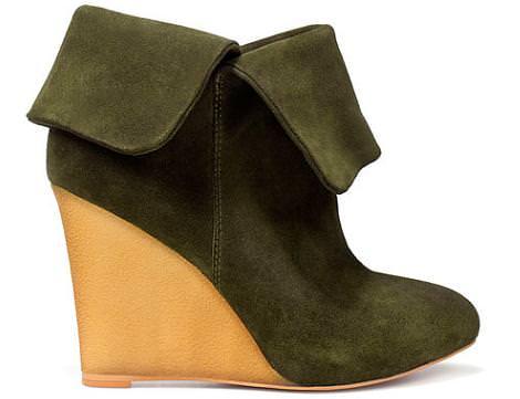 Botines cuña de Zara del otoño 2011