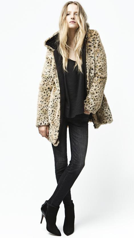 Abrigos leopardo