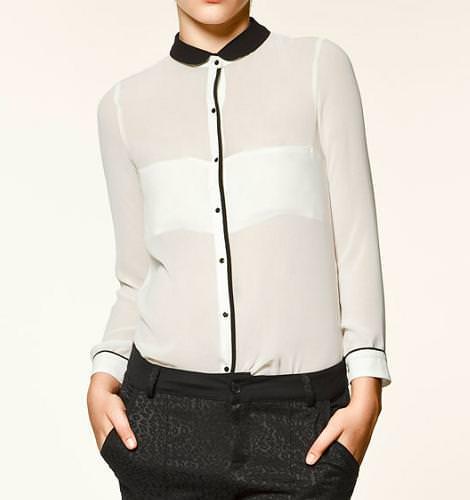 Camisas con los cuellos de moda
